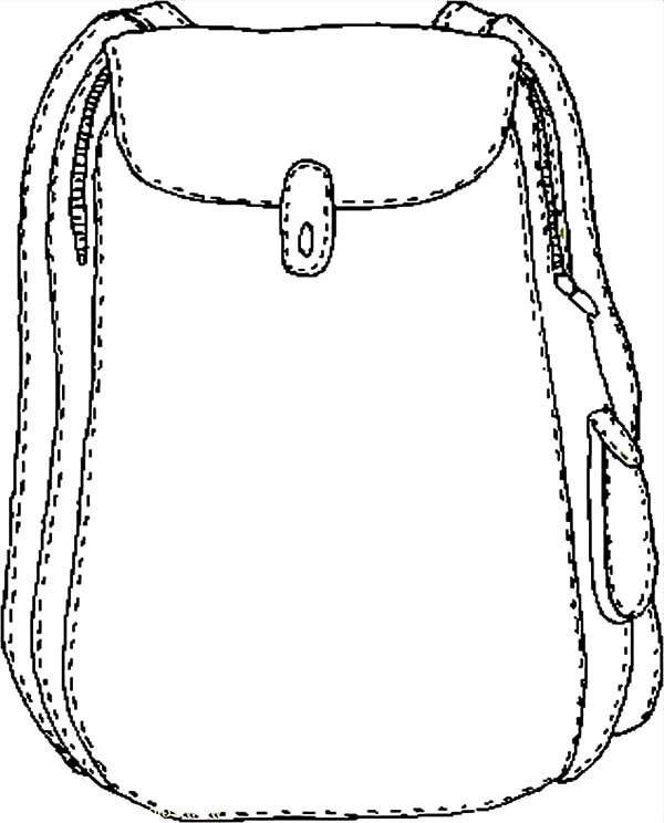 Backpack Coloring Pages: Backpack Coloring Pages – Best Place to Color