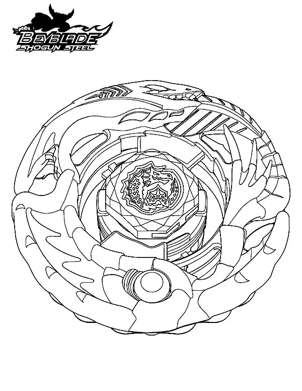 download - Beyblade Metal Fury Coloring Pages