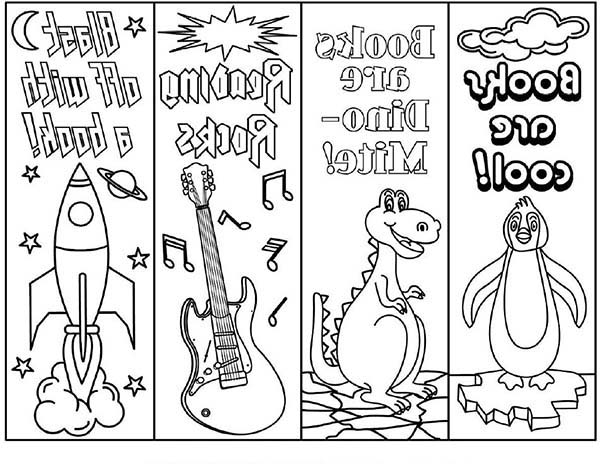 Bookmarks Coloring Pages for Kids: Bookmarks Coloring Pages for Kids ...