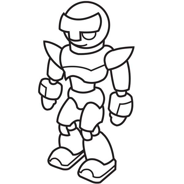 Strong Fighting Robot Coloring Pages Strong Fighting Robot Coloring Pages Robot