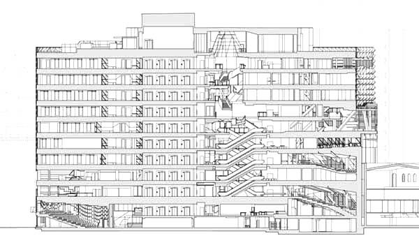 Apartment, : Apartment Design Coloring Pages