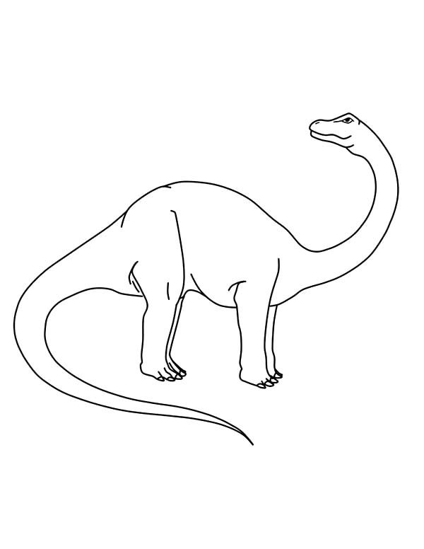 Apatosaurus, : Apatosaurus Coloring Pages for Kids