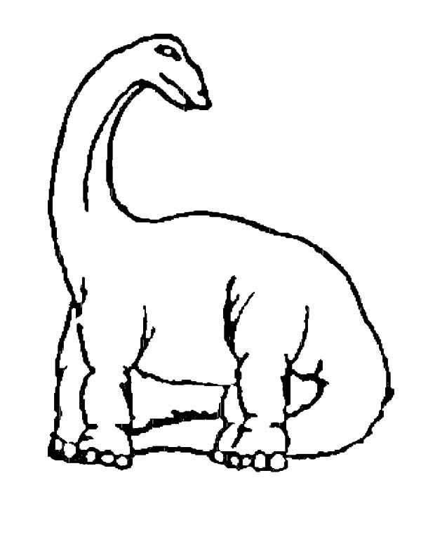 Apatosaurus, : Apatosaurus Eat so Much Coloring Pages