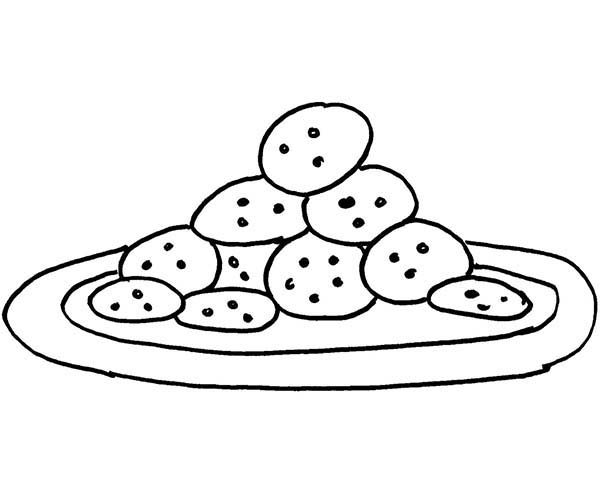 Baking Cookies, : Baking Cookies by Cookie Monster Coloring Pages