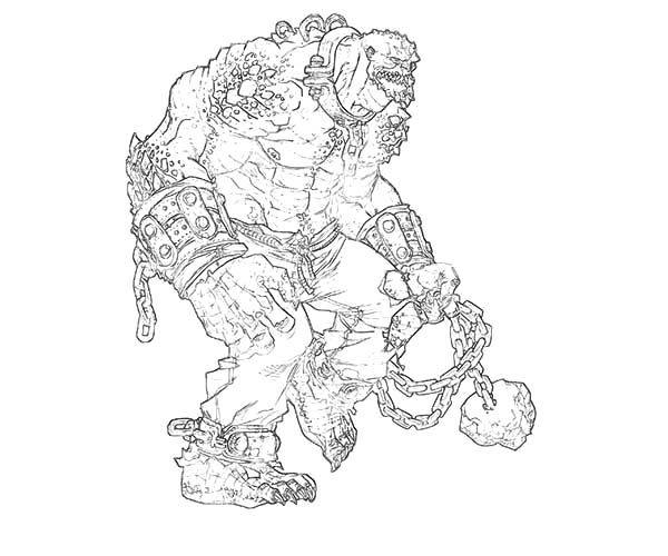 bane from batman coloring pages - photo#21
