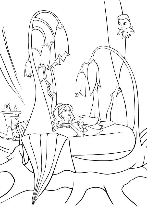 barbie coloring pages full size - photo#42