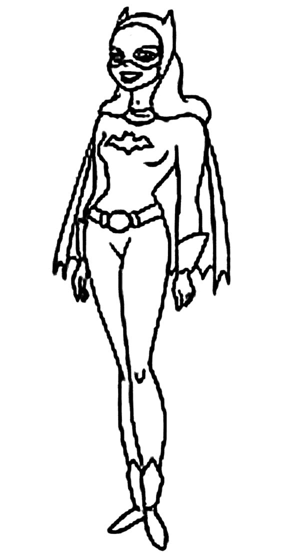 free batgirl and supergirl coloring pages Supergirl Coloring  Batgirl Coloring