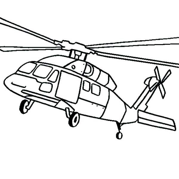 Black Hawk Apache Helicopter Coloring Pages Best Place to Color