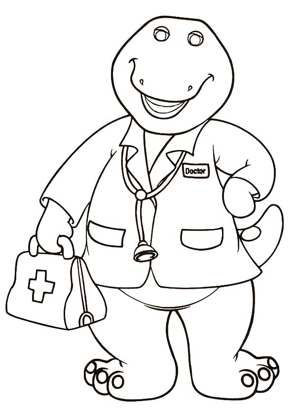 coloring pages barney - barney free coloring pages