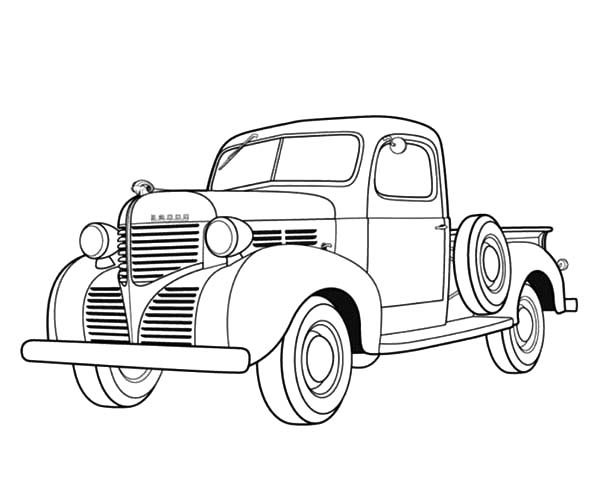 free coloring pages of dodge cummins