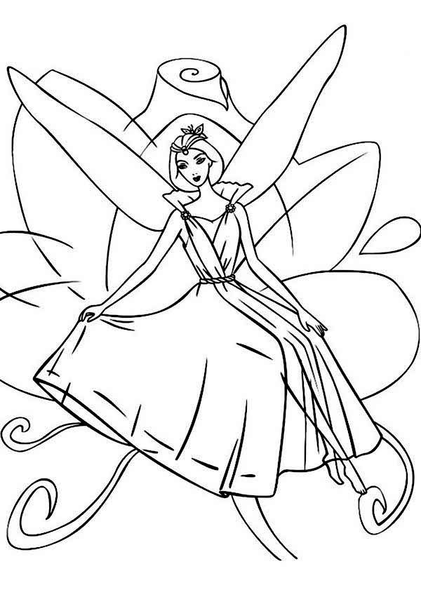 Barbie Fairytopia Coloring Pages Coloring Pages To Latest Wallpapers ...
