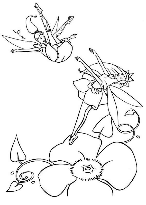 Barbie Fairytopia Coloring Pages To Latest Wallpapers