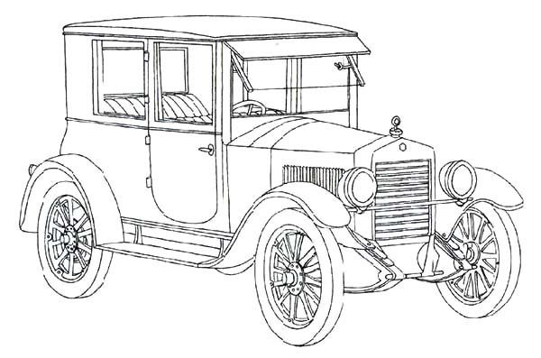 ford model t antique car coloring pages  ford model t antique car coloring pages  u2013 best place to