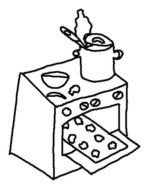 baked treats coloring pages - photo#11