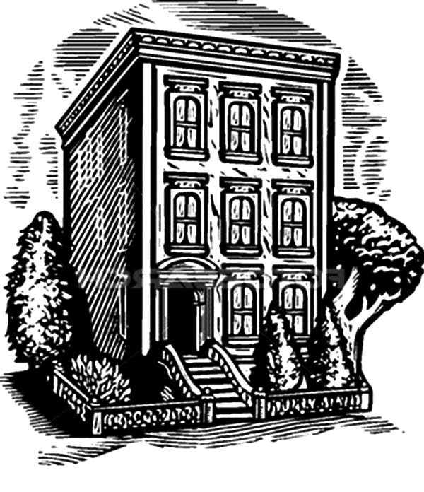 Apartment, : Living in an Apartment Coloring Pages