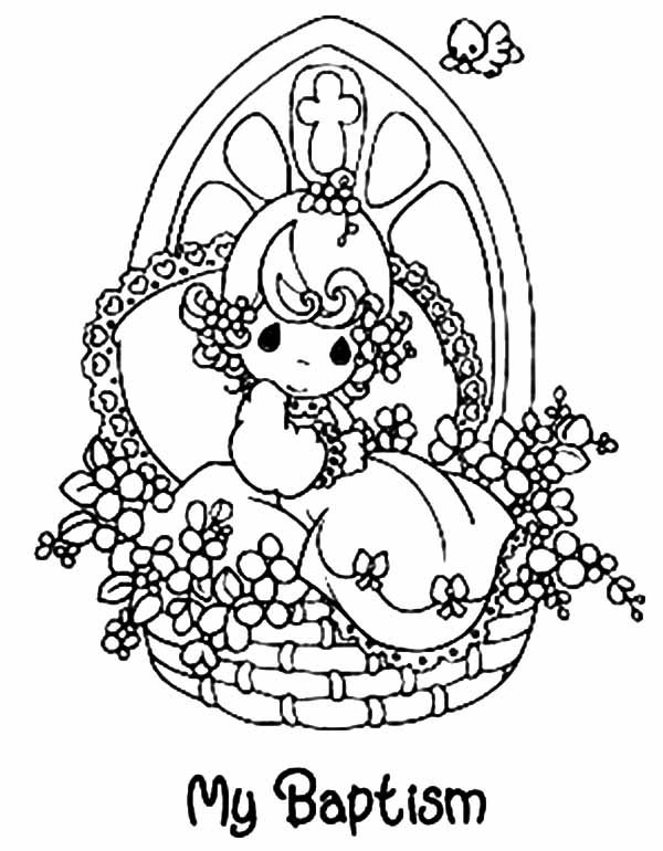 My Baptism Coloring Pages Best Place to Color