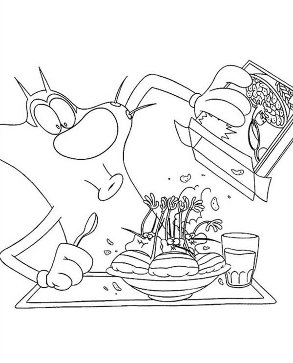 Eating Breakfast Coloring Pages | www.imgkid.com - The ...