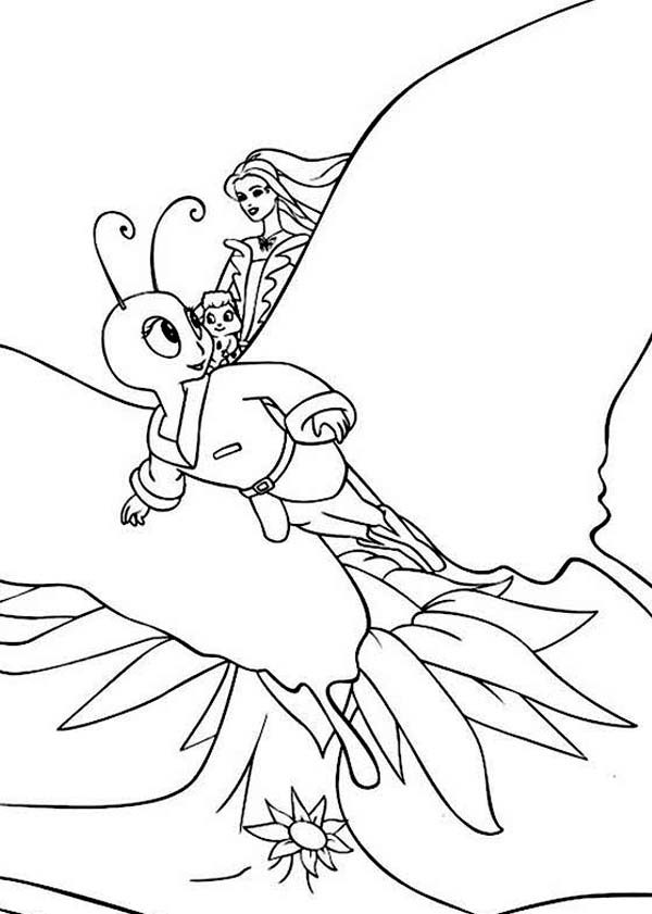 Barbie Fairytopia, : Picture of Barbie Fairytopia World Coloring Pages