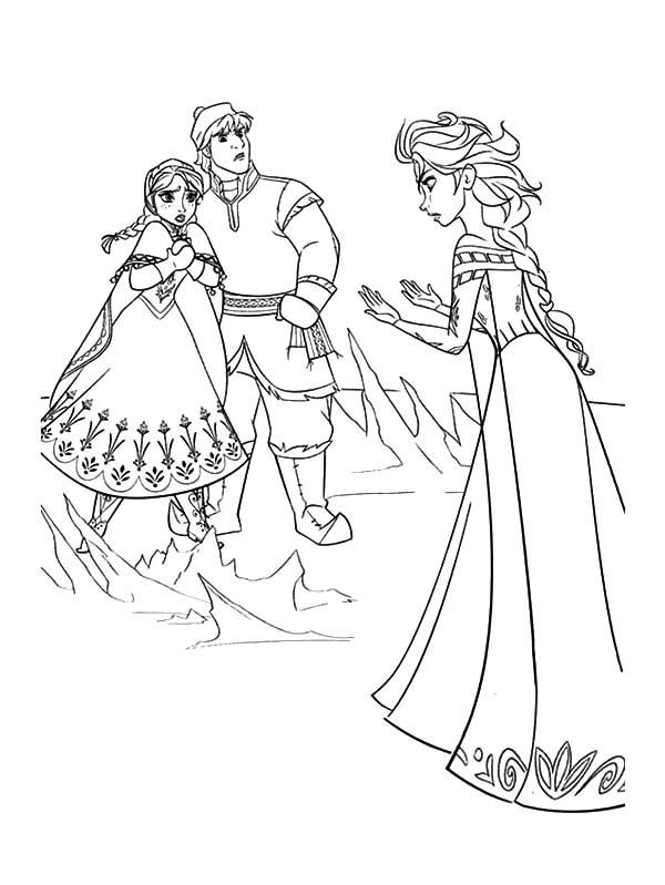 Queen Elsa Doen Not Mean To Hurt Princess Anna And