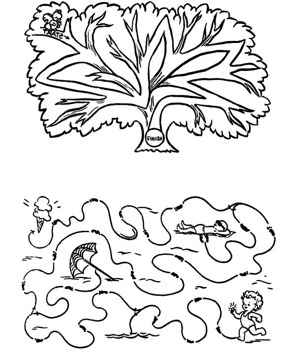 Arbor Day, : Arbor Day Games Coloring Pages
