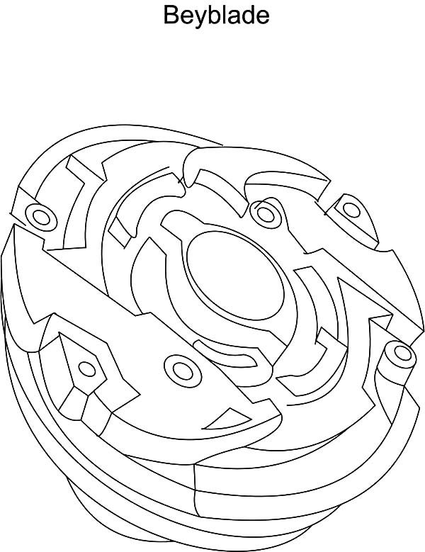 Beyblade, : B is for Beyblade Coloring Pages