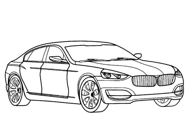 BMW Car, : BMW Car Collertor Coloring Pages