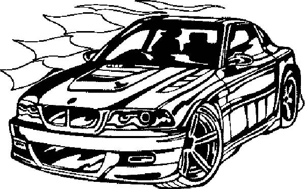BMW Car, : BMW Car Coloring Pages