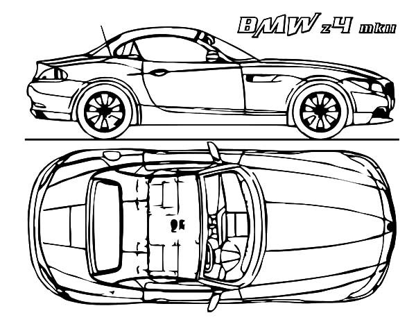 BMW Car, : BMW Car Concept Coloring Pages