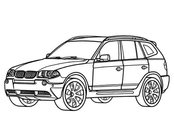 Coloring Pages Cars Bmw : Bmw car type coloring pages best place to color