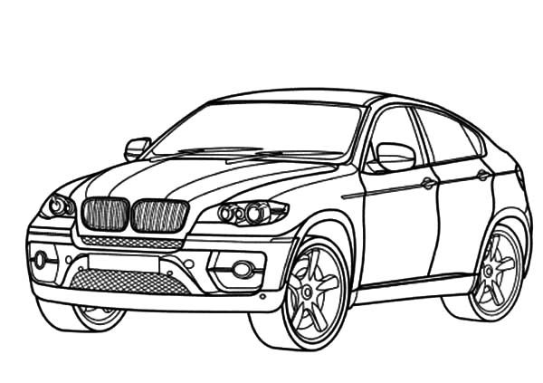 Coloring Pages Cars Bmw : Bmw car coloring pages best place to color