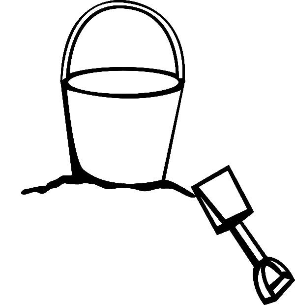 shovel coloring pages - photo#35