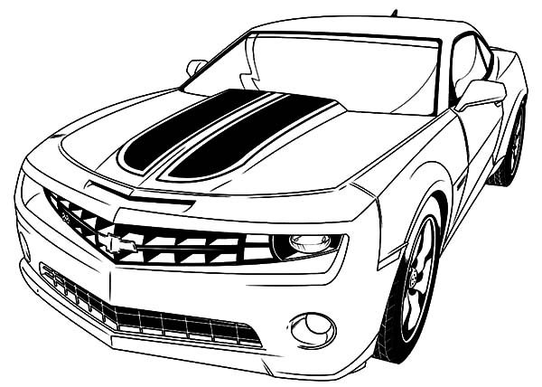 transformer bumblebee car coloring pages - photo#3