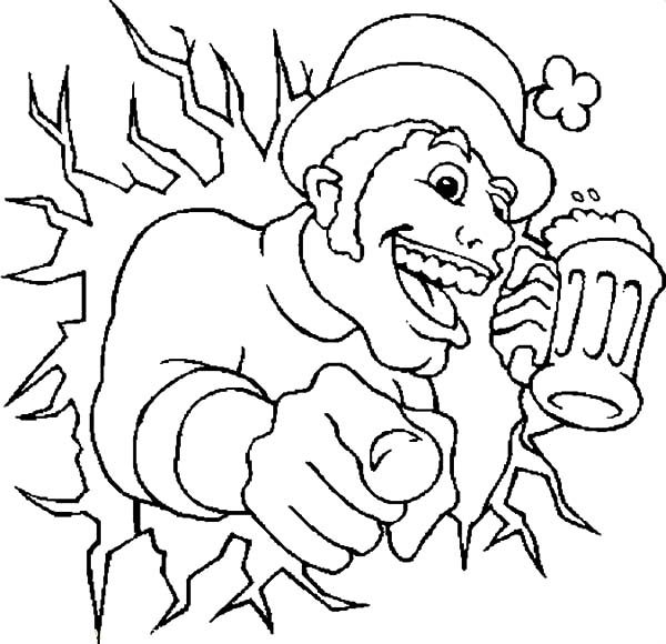 Beer, : Beer Advertising Coloring Pages