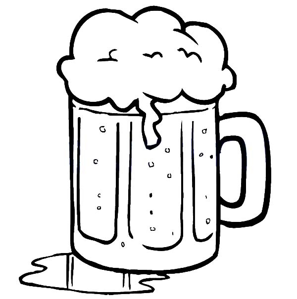 beer spill on table coloring pages  beer spill on table coloring pages  u2013 best place to color