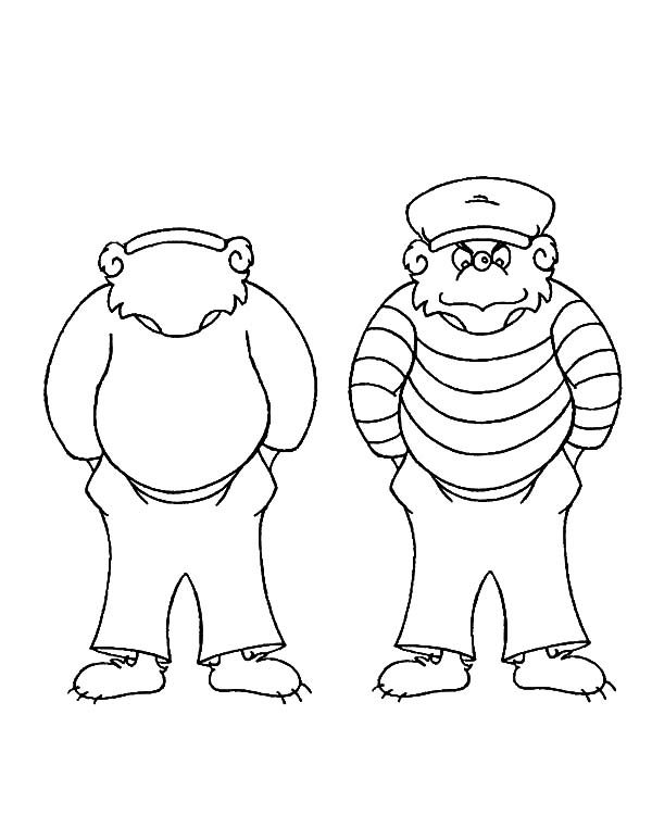 Berenstain Bear, : Berenstain Bear Character Coloring Pages