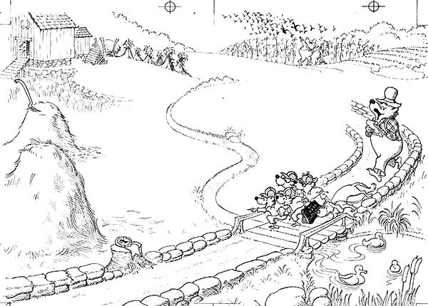 Berenstain Bear, : Berenstain Bear Country Coloring Pages