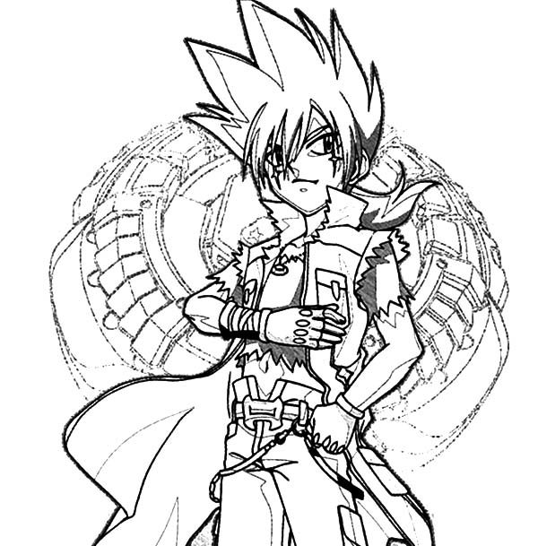Beyblade, : Beyblade G Revolution Coloring Pages