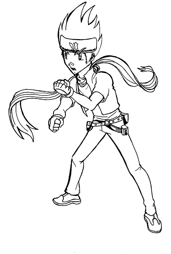 ginga beyblade coloring pages - photo#3