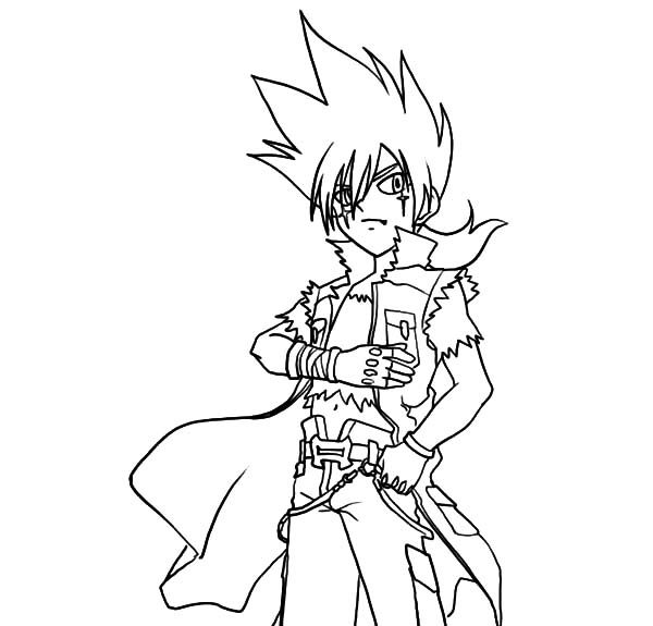 beyblade coloring pages gingka - photo#18