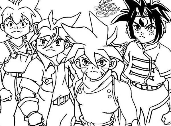 Beyblade, : Beyblade Metal Fight Coloring Pages