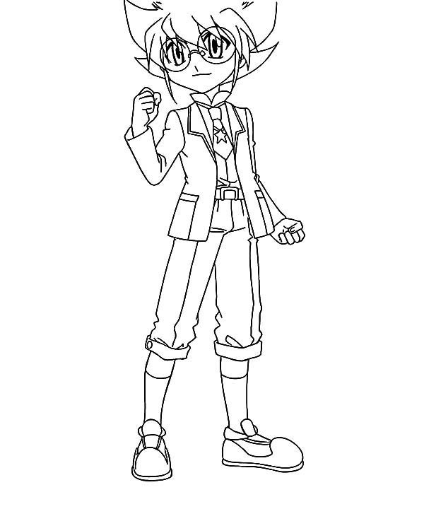 Beyblade, : Beyblade Yuki Coloring Pages
