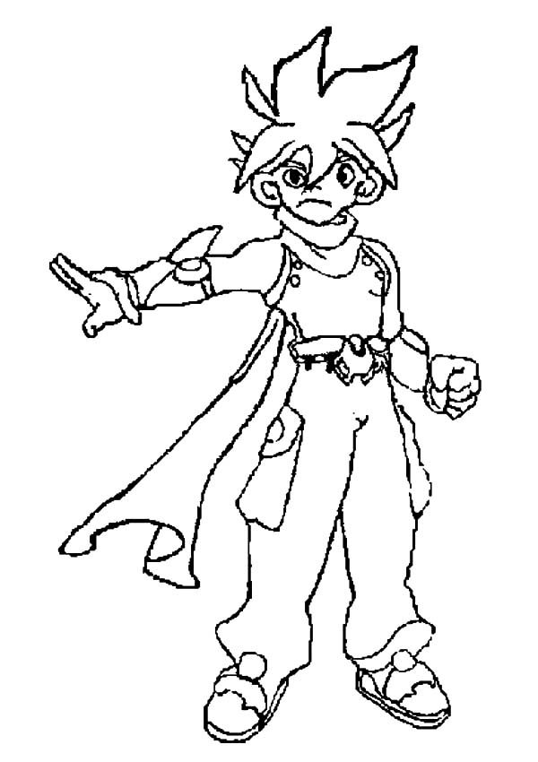 Beyblade, : Beyblade Zyro Had Enough Coloring Pages