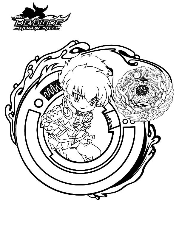 Beyblade, : Beyss Eight Beyblade Coloring Pages 2