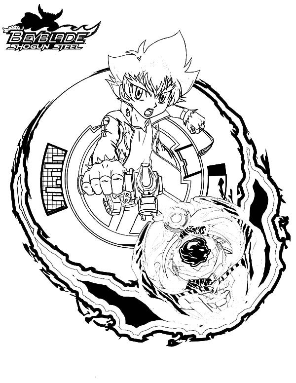 Beyblade, : Beyss Zyro Beyblade Coloring Pages 2