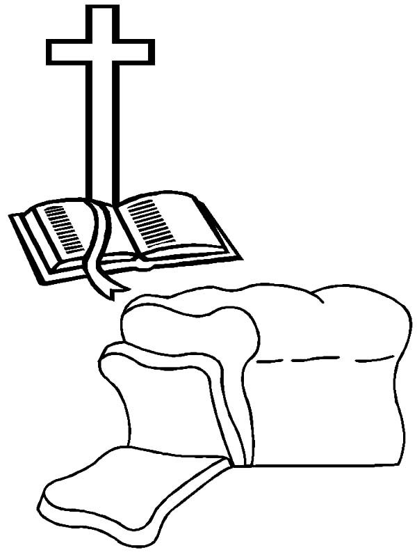 bread of life coloring pages - photo#11