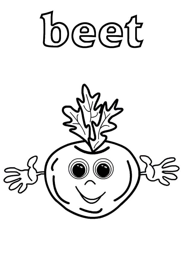 Beets, : Big Eyed Beets Coloring Pages