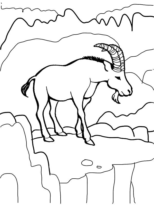 Billy the Goat, : Billy the Goat is Hungry Coloring Pages