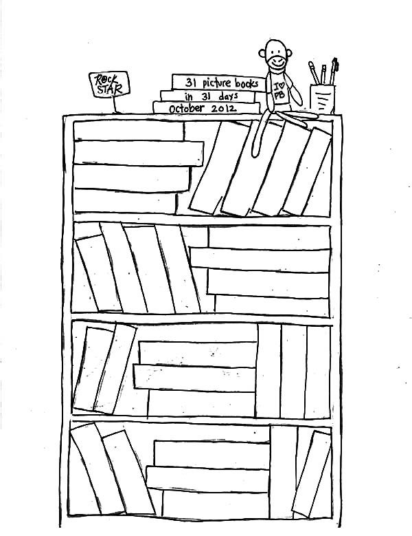 book shelves co...