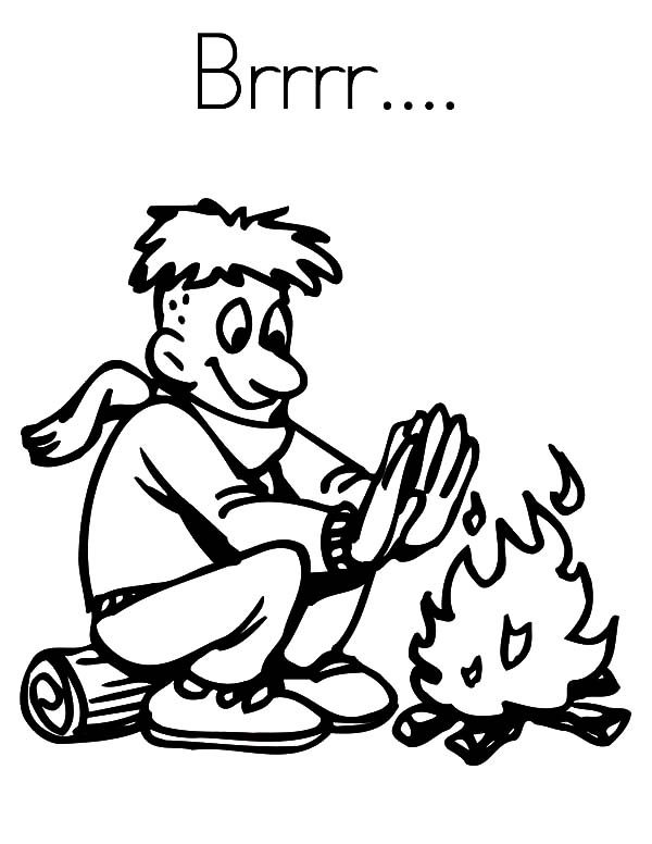 Boy Scouts, : Boy Scouts Cold Attack Coloring Pages