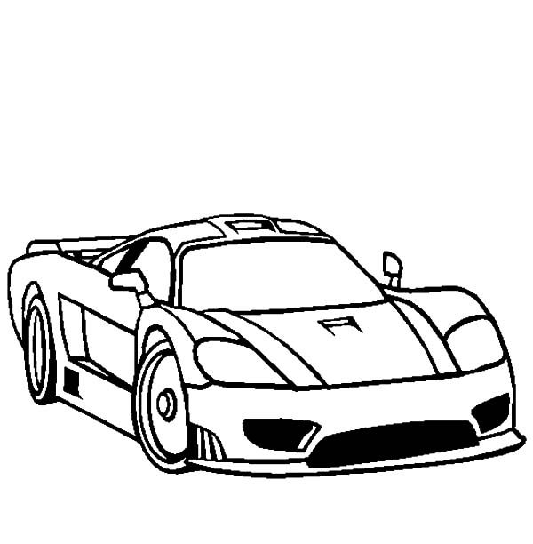 Bugatti Car, : Bugatti Car Coloring Pages